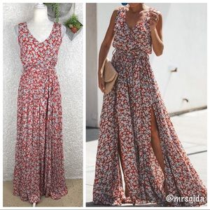 Vici Bed of Flowers Diana Maxi Dress | S